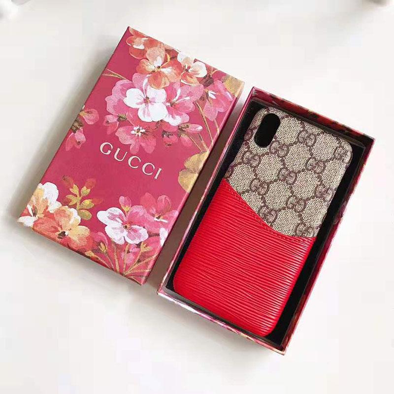 iphone 12 ケースグッチ iphone XI/11 pro/11r/se2ケース ブランド iphone xr/xs maxケース 高品質 Galaxy s10/s10+ケース カード入れ iphone x/8/7 plusケース オシャレギャラクシー s9/s8 plusケース