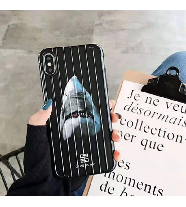 ジバンシー iphone 11/11pro max/11 pro/se2ケース ブランド 個性サメ iphone xr/xs maxケース iphone テンアールケース 花柄 アイフォン x/8 plus 7plusケース オシャレ ファッション