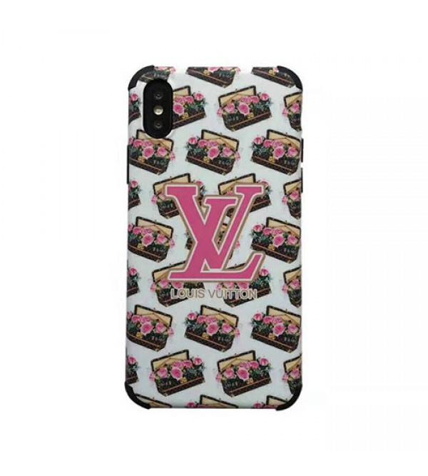 iphone 12 ケースルイヴィトン iphone 11r/11 pro max/se2ケースブランド iphone xr/xs maxケース花柄プリント アイフォン x/8/7 plusケース 芸能人 愛用