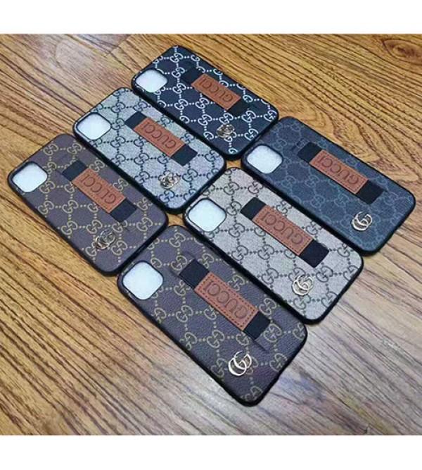 iphone 12 ケースgucci iphone 11R/11pro max/se2ケースグッチ iphone xr/xs maxケース 超人気 iphone x/8 plusケースブランドハンドベルト付き アイフォン 10/テンアールケースファッションオシャレ新品