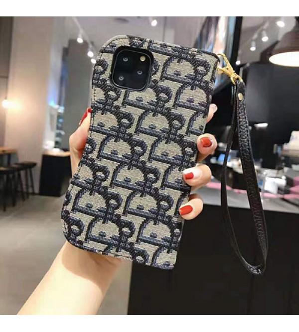 iphone 12 ケースディオール iphone 11/11pro/11pro  max/se2ケースブランド レディース向け iphone xr/xs maxケース 手帳型 アイフォン x/8 plusカバー お洒落ファッション