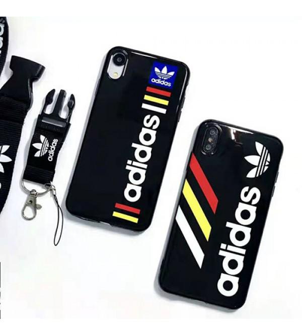 iphone 12 ケースadidas iphone 11pro max/se2ケースブランド iphone xr/xs maxケース オシャレスポーツ風 アイフォン x/8/7 plusケースファッション人気 男女兼用