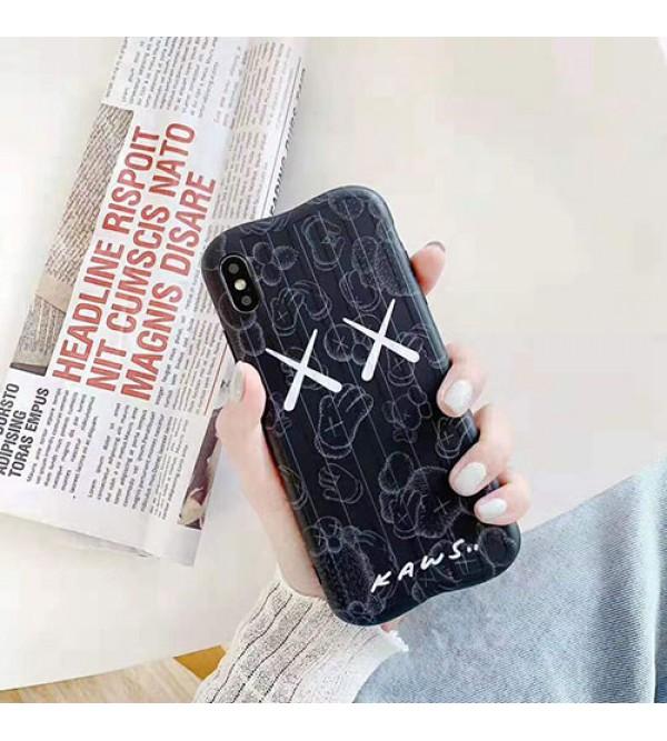 iphone 12 ケースKAWS iphone 11/11pro max/se2ケース 可愛い人気 iphone xr/xs maxケースキャラクター付き iphone x/8/7 plusケース ファッション個性