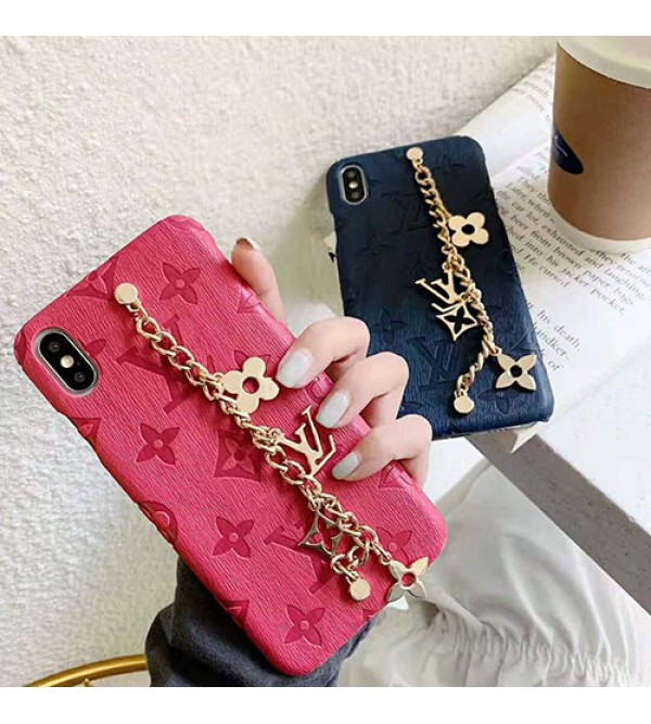 iphone 12 ケースルイヴィトン iphone 11/11pro/11pro max/se2ケースブランド iphone xr/xs maxケースlvオシャレチェーン付き アイフォンx/8/7 plusケース高級 ファッションジャケット型