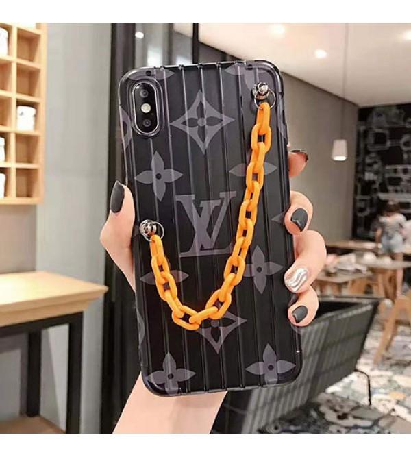 iphone 12 ケースルイヴィトン iphone 11/11pro max/se2ケース ブランド iphone xr/xs maxケース オシャレモノグラム チェーン付き iphone x/8/7 plusケース  ファッション大人気新品