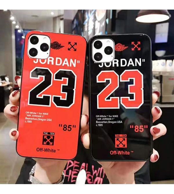 iphone 12 ケースジョーダン off-white iphone 11/11pro max/se2ケース個性ブランドiphone xr/xs maxケース スポーツ風 iphone x/8/7 plusケース 男女兼用 オシャレファッション