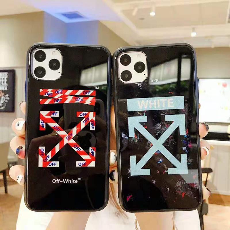 オーフホワイト iphone 11/11pro max/se2ケースブランド iphone xr/xs maxケース off-white 潮流アイフォンx/8/7 plusケースファッション芸能人愛用