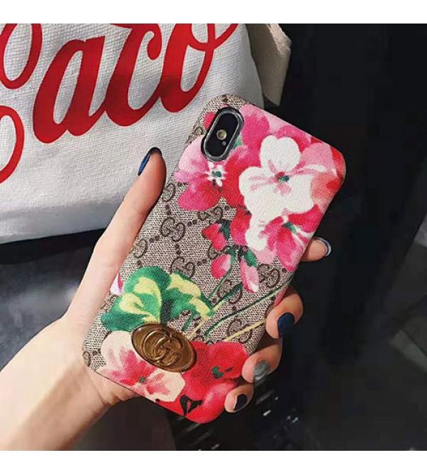 iphone 12 ケースグッチ iphone 11/11pro max/se2ケース ブランド iphone xr/xs maxケース 花柄自然風 Galaxy s10/s10+ケース アイフォン x/8/7 plusケース お洒落 ファッション大人気