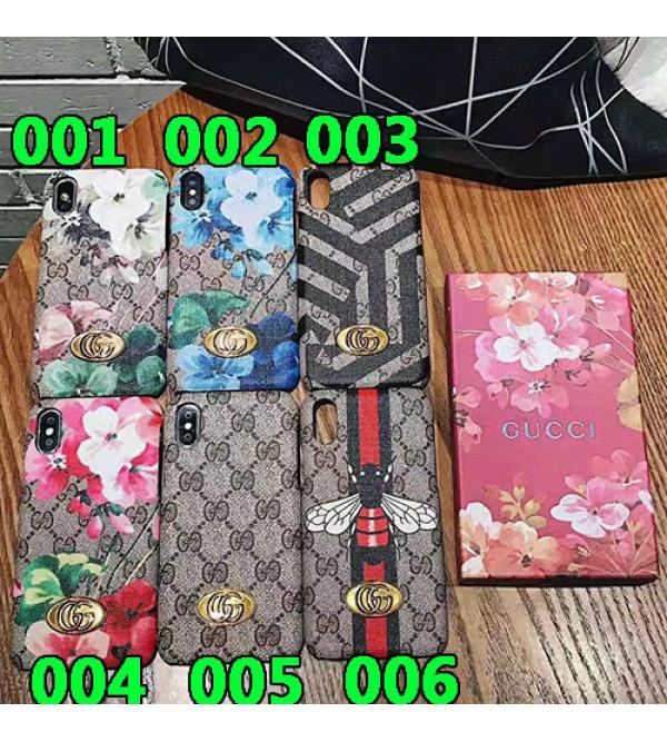 グッチ iphone 11/11pro max/se2ケース ブランド iphone xr/xs maxケース 花柄自然風 Galaxy s10/s10+ケース アイフォン x/8/7 plusケース お洒落 ファッション大人気