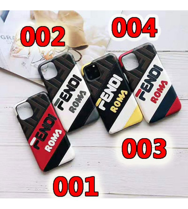 fendi iphone 11/11pro max/se2ケース ブランド フェンデイ iphone xr/xs  maxケースおしゃれ混色iphone x/8 plusケース アイフォン 7/6s plusケースファッション人気