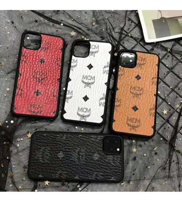 iphone 12 ケースMCM エムシーエム iphone11/11pro max/se2ケース ブランドiphone xr/xs  maxケース オシャレ韓国風iphone x/8 plusケースファッション芸能人愛用