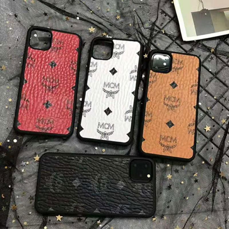 MCM エムシーエム iphone11/11pro max/se2ケース ブランドiphone xr/xs  maxケース オシャレ韓国風iphone x/8 plusケースファッション芸能人愛用