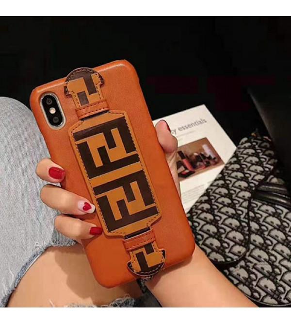 iphone 12 ケースFENDI iphone 11/11pro max/se2ケースフェンデイ iphone xr/xs maxケース オシャレハンドベルト付き iphone x/8/7 plusケースファッション個性 人気