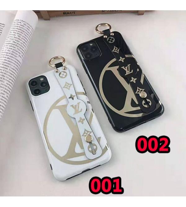 ルイヴィトンiphone11/11pro max/se2ケースブランド iphone xr/xs maxケース オシャレハンドベルト付きiphone x/10/8 plusケース ファッション高級 ホットスタンピング
