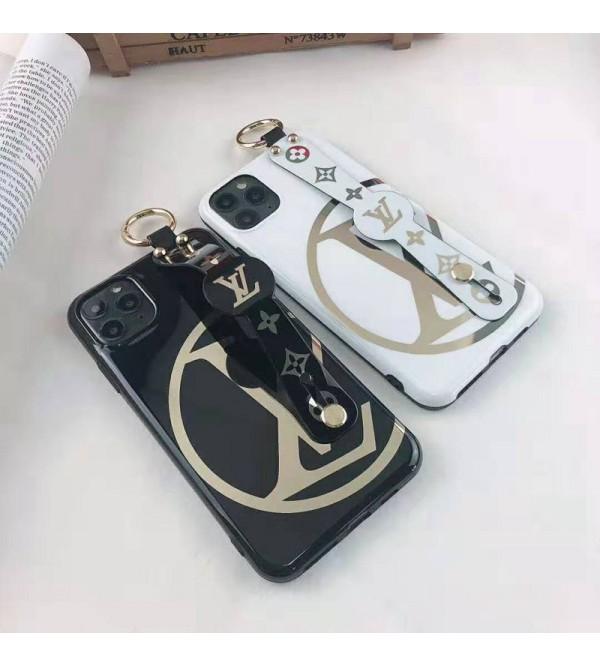 iphone 12 ケースルイヴィトンiphone11/11pro max/se2ケースブランド iphone xr/xs maxケース オシャレハンドベルト付きiphone x/10/8 plusケース ファッション高級 ホットスタンピング