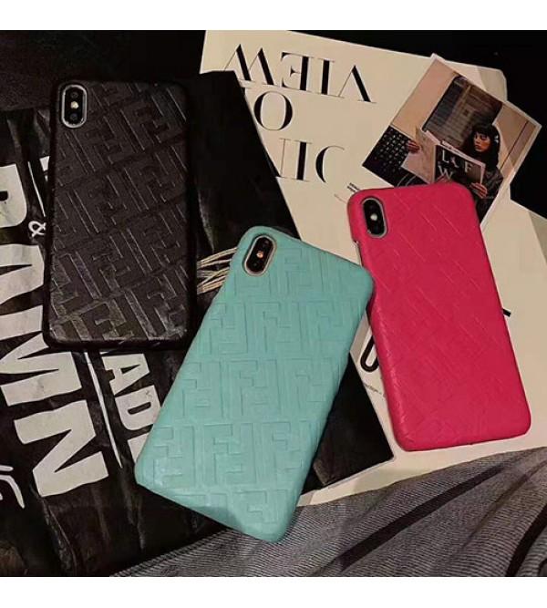 FENDI フェンデイ iphone 11/11pro/11 pro max/se2ケースブランド オシャレ iphone xr/xs  maxジャケット型ケース iphone x/8/7 plusカバー オシャレ高級