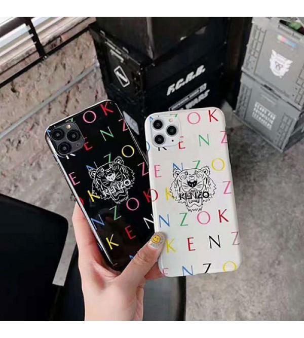 iphone 12 ケースケンゾー iphone11/11 pro max/se2ケース KENZO iphone xr/xs/xs maxケース 虎頭 iphone x/8/7 plusケース オシャレ人気 男女兼用