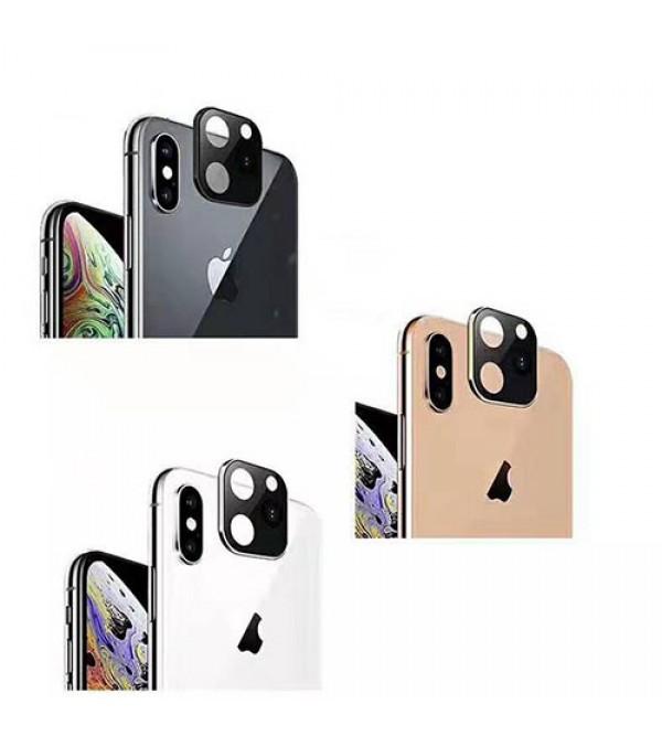 iphone11/11pro/11pro maxスマートフォンレンズカバー 保護性 アイフォン11携帯のレンズカバー金色 ブラック 銀色選べ