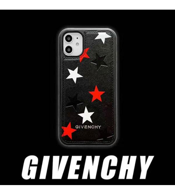 iPhone 12ケースジバンシー iphone11/11pro max/se2ケースブランドgivenchy iphone xr/xs maxケース 個性五芒星付き アイフォン x/8/7 plusケースファッションオシャレ高級