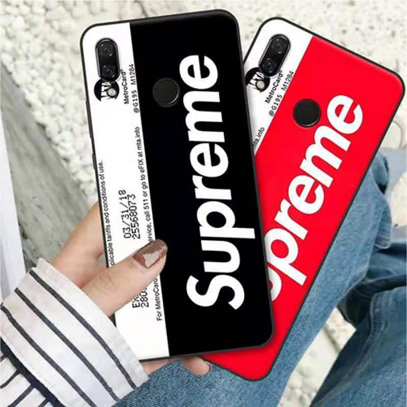 シュプリーム iphone11/11pro max/se2ケース ブランド iphone xr/xs maxケースsupreme 個性潮流 アイフォン x/8/7 plusケース地下鉄カード 男女兼用 ファッションオシャレ