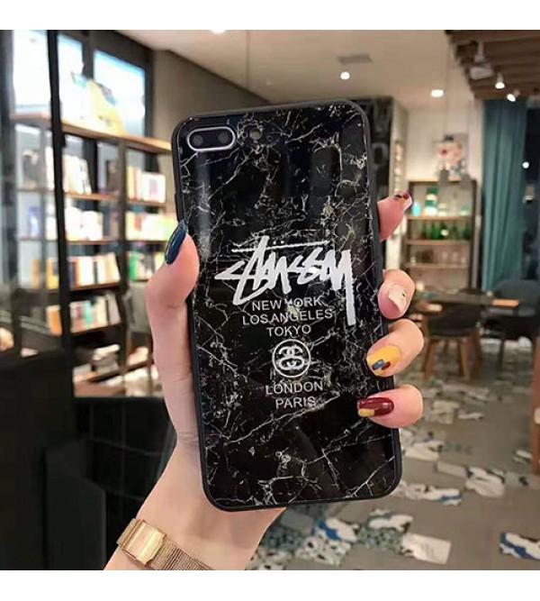 iphone 12ケースstussyステューシーiphone11/11pro/11pro max/se2ケース個性iphone xs/xr/xs maxケース潮流iphone   x/7/8/plusケースジャケット型 男女兼用