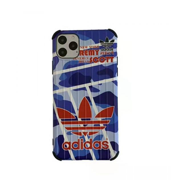 運動ブランド Adidas アディダスiphone11/11pro/11pro max/se2ケース潮流iphone xs/xr/xs maxケース個性iphone   xs/xr/xs maxケース滑り止め 激安新品 男女兼用