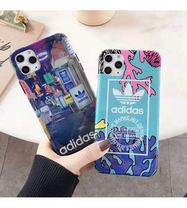 潮流ブランドアディダスiphone11/11pro /11pro max/se2ケース個性iphone x/xs/xr/xs maxケース可愛い   iphone7/8/plusケースジャケット型 オシャレ 激安新品