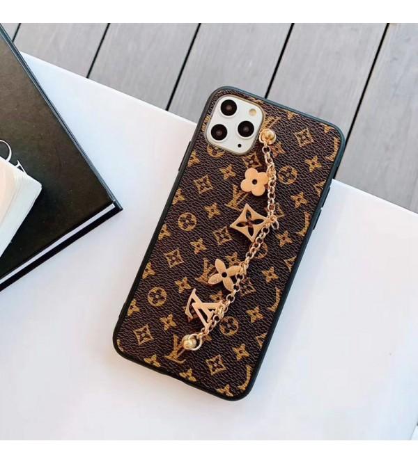 iphone 12/12 pro/12  pro max/12 miniケース贅沢ブランドルイヴィトンiphone11/11pro /11pro max/se2  galaxy s20/s20+ケースチェーン付きiphone x/xs/xr/xs maxケースオ  シャレiphone7/8/plusケース個性潮流 ジャケット型 激安新品 男女兼用