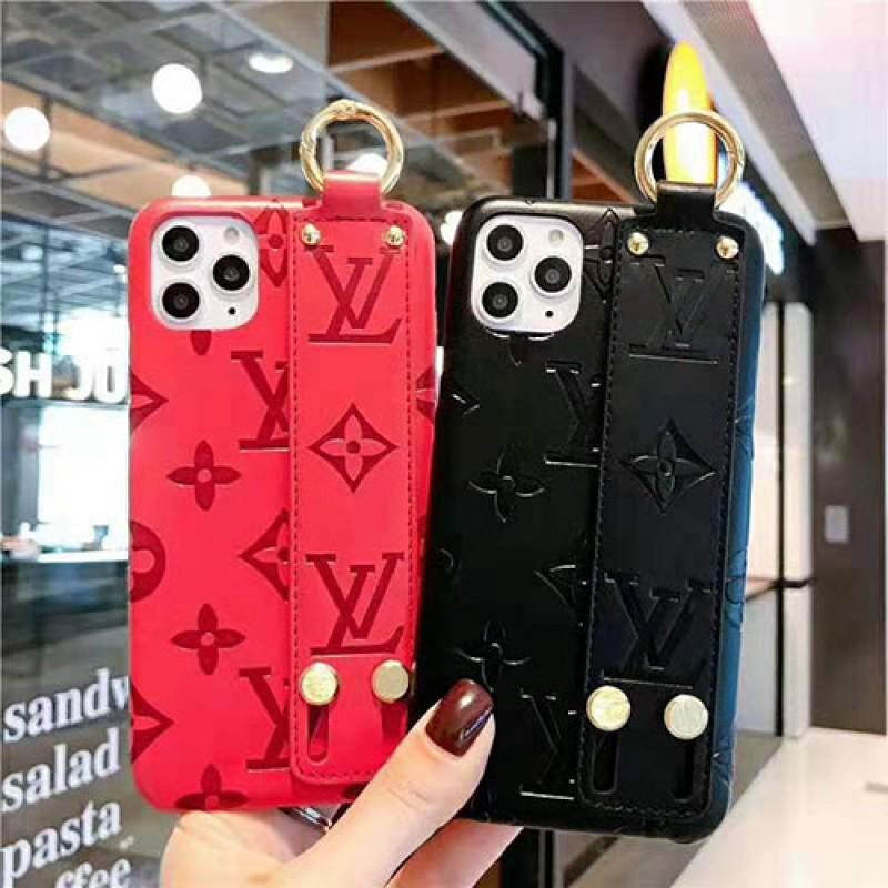 iphone 12 mini/12 pro/12 /12 pro maxケースブランドグッチiphone11/11pro /11pro max/se2ケースオシャレルイヴィトンiphone x/xs/xr/xs maxケースストラップ付きiphone7/8/plusケースファンション ジャケット型 花柄