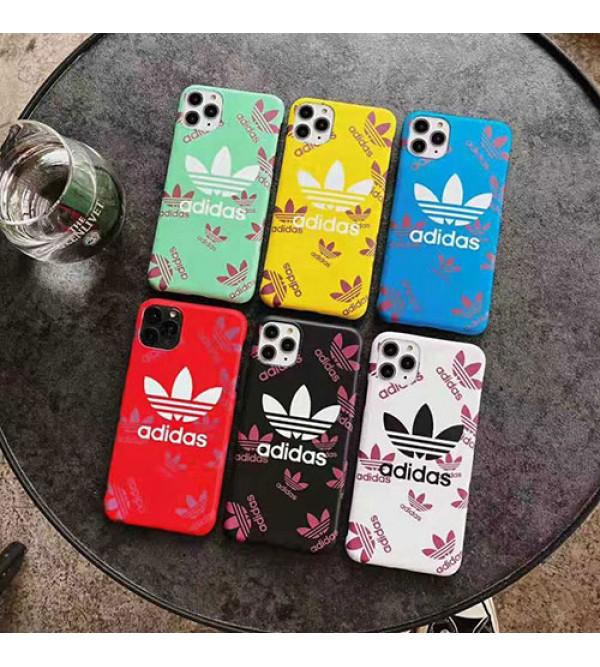 iphone12ケース潮流ブランドアディダスiphone11/11pro /11pro max/se2ケースオシャレiphone x/xs/xr/xs maxケース個性  iphone7/8/plusケース耐衝撃 ジャケット型 運動風 男女兼用
