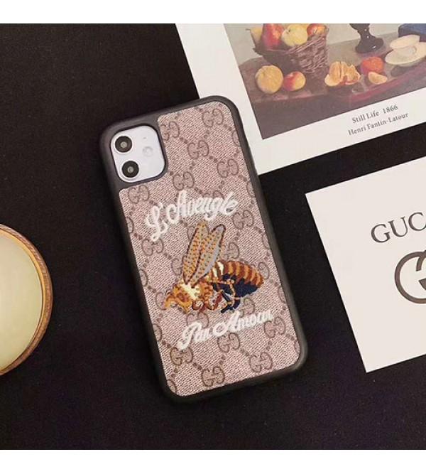 ブランドグッチiphone11/11pro/11pro max/se2ケース可愛いiphone x/xs/xr/xs maxケースミッキーマウス付き  iphone7/8/plusケース動物付き 個性潮流 ファンション 男女兼用