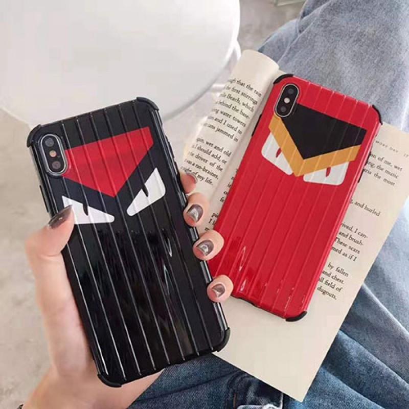 個性ブランドフェンデイiphone11/11pro/11pro max/se2ケースiphone12ケース潮流iphone x/xs/xr/xs maxケース可愛い iphone7/8/plusケースオシャレファンション滑り止め