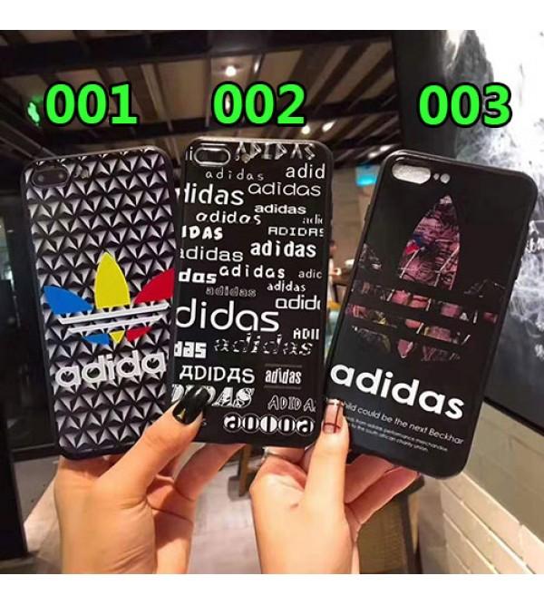 iphone 12 ケースアディダス iphone11/11pro max/se2ケースブランド iphone xr/xs maxケース運動風iphone x/10/8/7 plusケース個性潮流iphoneテンアールケースお洒落ファッション