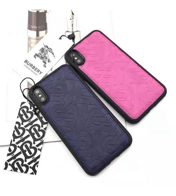 バーバリー iphone11/11pro max/se2ケース ブランド iphone xr/xs  maxケース 男女兼用 iphone x/8/7 plusケースお洒落 アイフォン 10/ケース ファッション大人気 新品芸能人愛用
