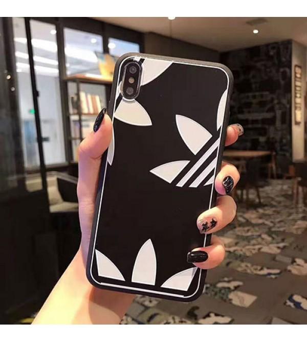 シャネル ルイヴィトン iphone11/11pro max/se2ケース アディダス iphone xr/xs maxケース花柄 アイフォン x/8/7 plusケース お洒落人気新品 iphone xsカバー 女性向け