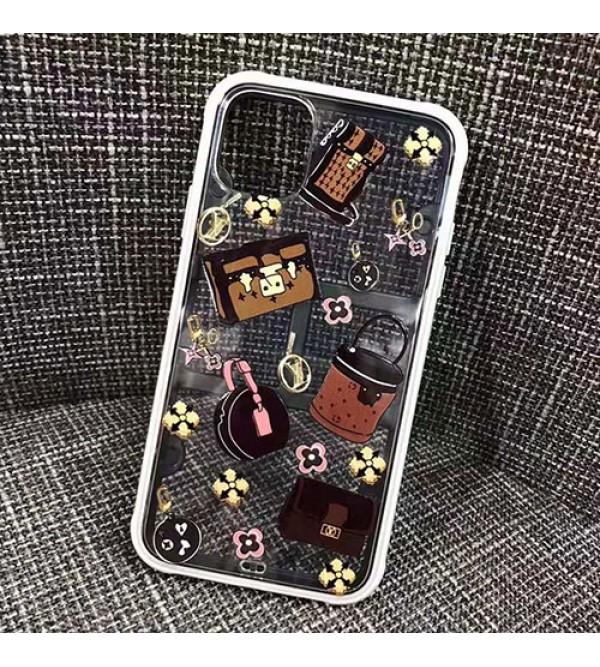 シャネル ルイヴィトン iphone11/11pro max/se2ケースブランド個性 iphone xr/xs  maxケース透明お洒落ロゴ付きiphone x/8/7 plusケースファッション人気新品
