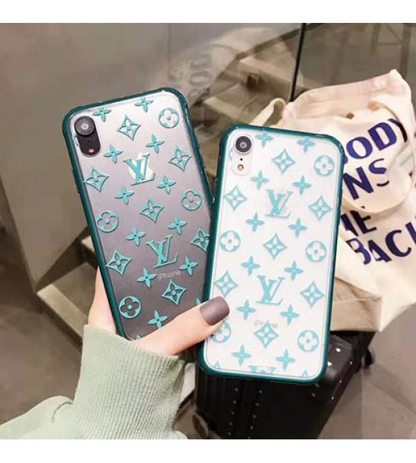 iPhone12 ケースルイヴィトン iphone11/11pro max/se2ケースブランドお洒落iphone xr/xs maxケース グリーンモノグラム iphone x/8/7 plusケースファッション人気 新品