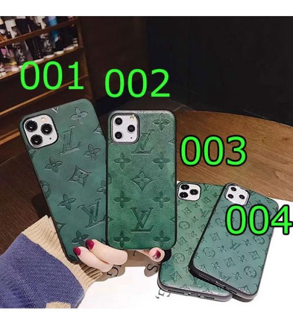 iphone 12/12 mini/12 pro/12 pro maxケースルイヴィトン iphone11/11pro max/se2 galaxy s20/s20+ケース ブランド lv iphone xr/xs maxケース グリーンモノグラムGalaxy note10/s10 plusケースiphone x/8/7 plusケース お洒落ファッション人気 ジャケット