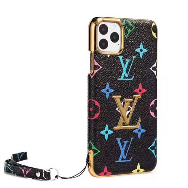 iPhone12 ケースルイヴィトン iphone11/11pro max/se2ケースブランド iphone xr/xs maxケース お洒落大人気 iphone x/8/7ケース高級ファッションストラップ付き
