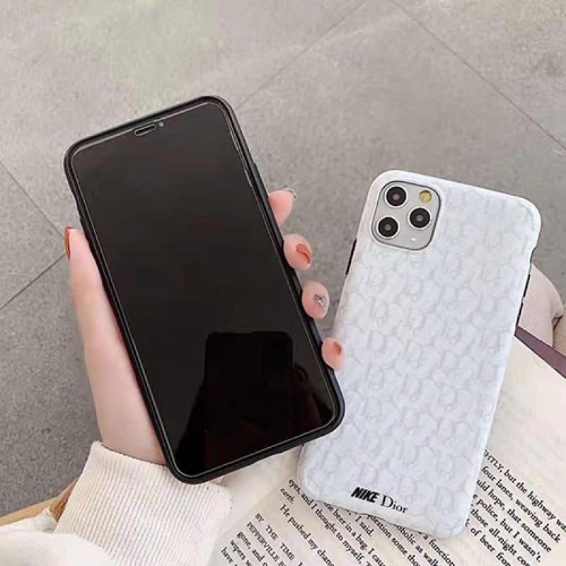 ディオールx ナイキコラボ iphone se2/11/11pro maxケースブランドiphone xr/xs maxケース お洒落スポーツ風 iphone x/8/7 plusケース男女兼用 激安人気