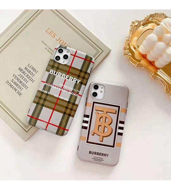 バーバリー burberry iphone se2/11/11pro maxケース ブランド iphonexr/xs maxケース人気イギリス風iphone x/10/8/7 plusケース 男女兼用ファッション新品