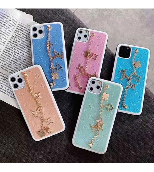 iphone 12ケースルイヴィトン iphone se2/11/11pro maxケース ブランド iphone xr/xs maxケース女性向けオシャレ iphone x/8/7 plusケースチェーンつきファッション超人気 耐衝撃