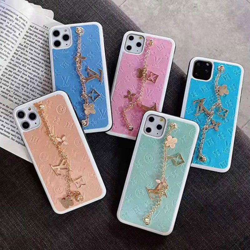 ルイヴィトン iphone se2/11/11pro maxケース ブランド iphone xr/xs maxケース女性向けオシャレ iphone x/8/7 plusケースチェーンつきファッション超人気 耐衝撃
