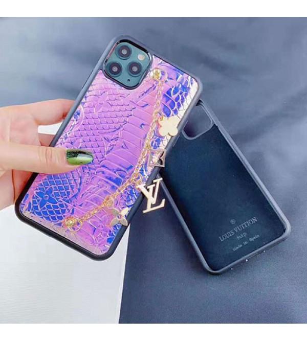 iphone 12ケースルイヴィトン iphone11/11pro max/se2ケースオシャレチェーン付き iphone xr/xs maxケースブランドlvGalaxy note10/s10 plusケース iphone x/8/7 plusケース女性向けオシャレ