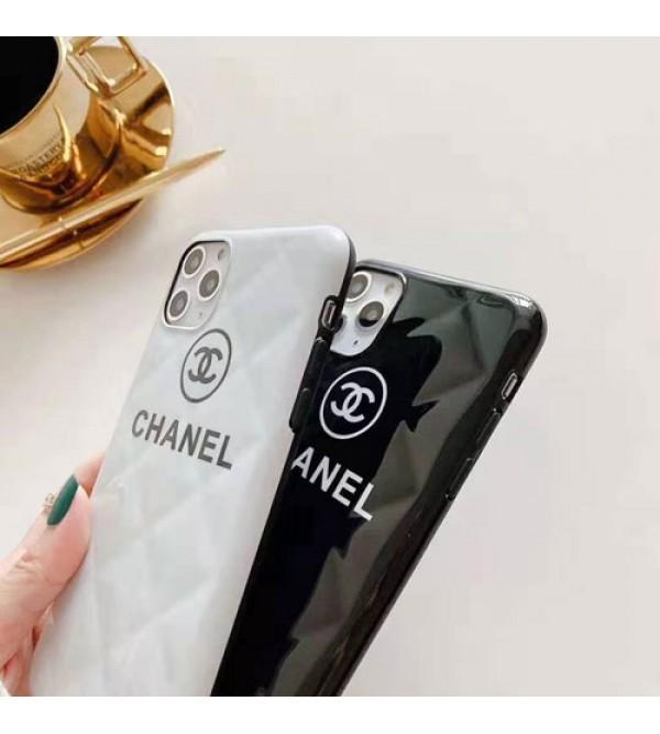 オシャレブランドシャネルiphone11/11pro/11pro max/se2ケース個性iphone x/xs/xr/xs maxケースファンションiphone7/8/plusケース菱形柄 耐衝撃 人気 激安新品