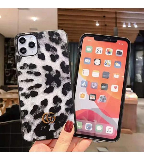 iPhone 12 ケースブランドグッチiphone11/11pro/11pro max/se2ケースヒョウ柄オシャレiphone x/xs/xr/xs maxケース個性  iphone7/8/plusケース ファンション 男女兼用 人気 耐衝撃