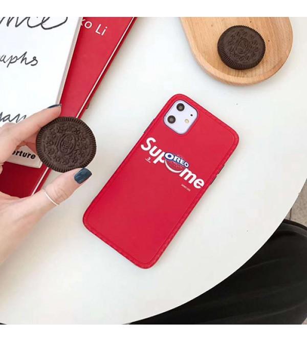 Supreme/シュプリームペアお揃い アイフォン11ケース iphone se2/xs/x/8/7ケース女性向け iphone xr/xs maxケースgalaxys20/ note10 s10/s9 plusケース ビジネス ストラップ付きシンプル