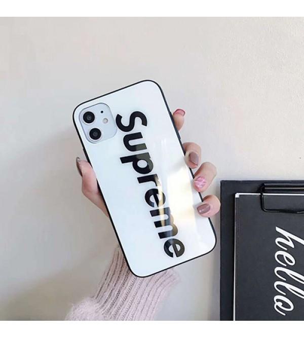 Supreme/シュプリームレディース アイフォンxs/11/8 plusケース おまけつきiphone se2/xr/xs max/11proケースブランドモノグラム iphone11/11pro maxケース ブランドiphone x/8/7 plusケース大人気
