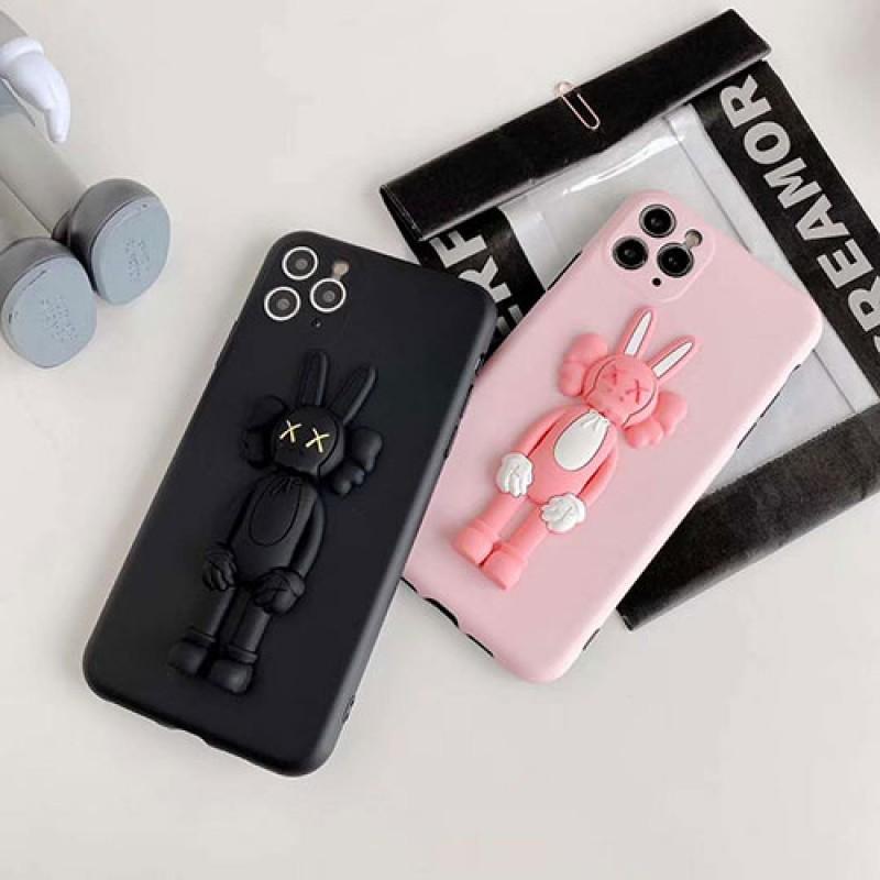 kaws ブランド iphone 13 pro max/13 mini/12/11/スマホケース LINEで簡単にご注文可シンプル ジャケット型 2021 iphone13ケース 高級 人気iphone x/8/7 plusケース大人気