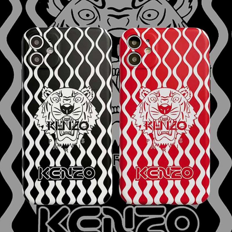 iphone 12 ケース Kenzo/ケンゾービジネス ストラップ付きiphone xs/11/8 plus/se2ケースブランド LINEで簡単にご注文可レディース アイフォン おまけつきモノグラム iphone11/11pro maxケース ブランド